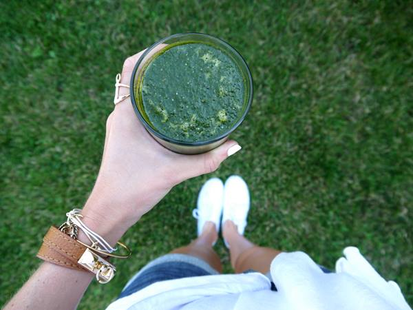 pumps and iron smoothie
