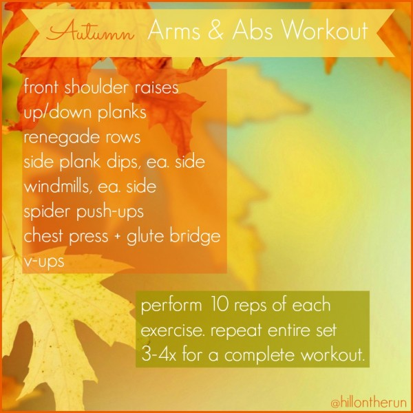 autumn workout