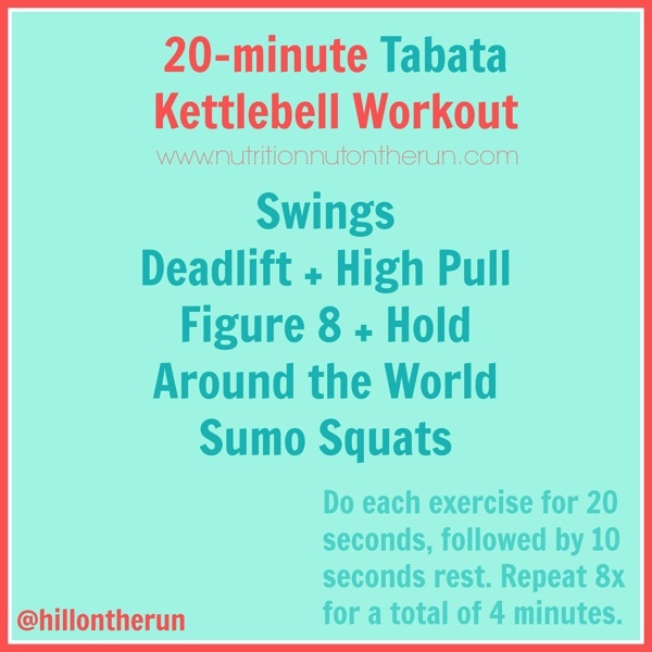 20 Minute Full Body Kettlebell Shred: 5 At-Home Kettlebell Workouts