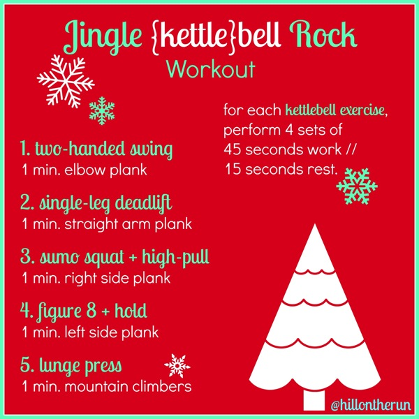 Jingle Bell Rock Interval Workout