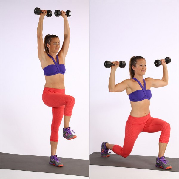 Back-Lunge-Overhead-Press