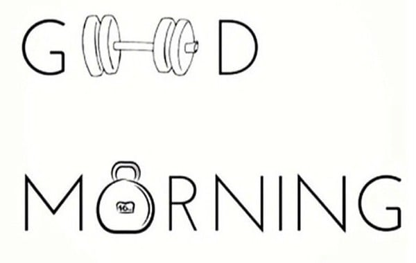 how to properly work out in the morning