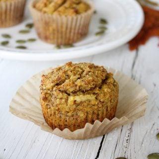 Grain-Free Apple Pumpkin Muffins