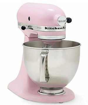 Kitchenaid Artisan in Pink