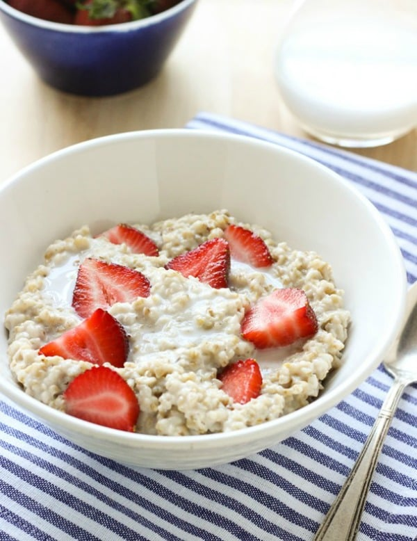 Strawberries-n-Cream-Steel-Cut-Oatmeal