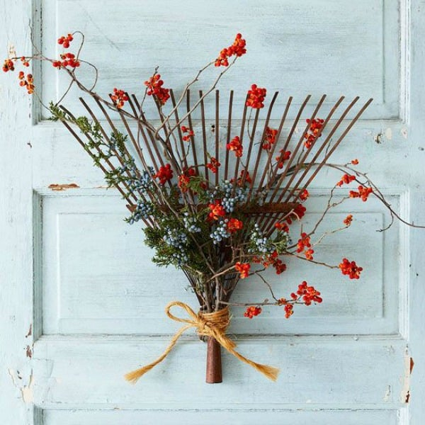 broom wreath