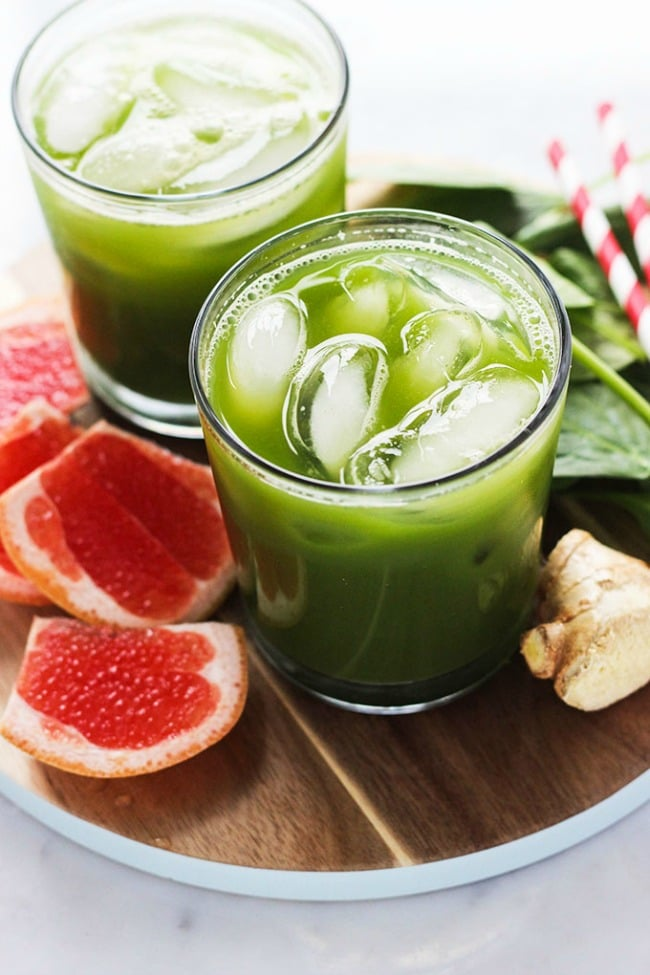 Green Juice Cocktail