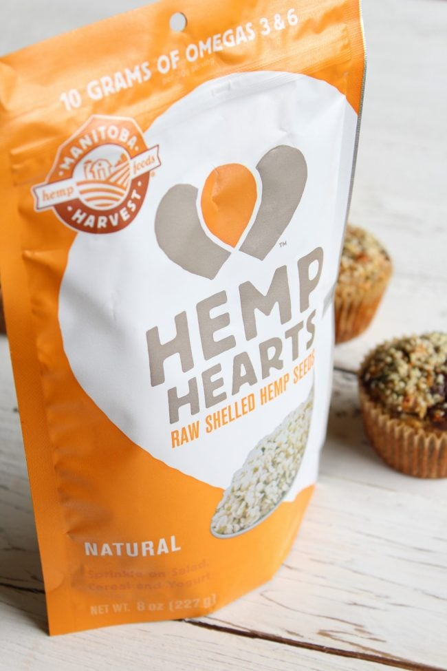 Hemp Banana Bread Muffins